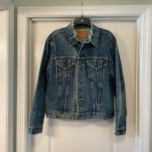 RARE Levi's 1960's Vintage Distressed Denim Jacket